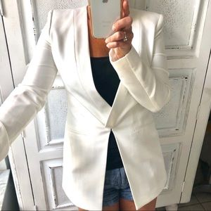 NWT BCBG STUNNING OFF-WHITE JACKET